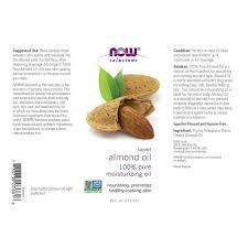amazon com now sweet almond oil 16 ounce health u0026 personal care