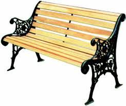 panchine da giardino in ghisa panchina ghisa legno pb12 con schienale nera 96940 30 3
