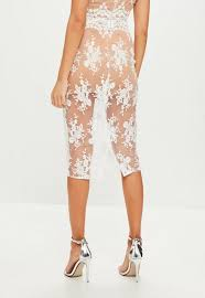 lace skirt white mesh and lace skirt missguided