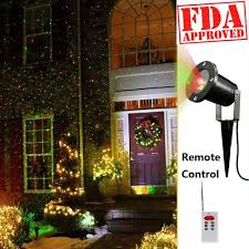 Christmas Lights Projector On House by Laser Light House Decoration House Decor