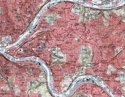 Pittsburgh Pennsylvania Map by Allegheny County Map
