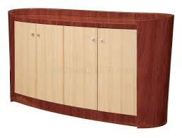 maple and cherry high gloss finish contemporary buffet