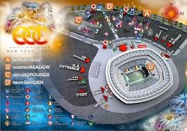 metlife stadium map tickets on sale for the of edc nyc to metlife stadium the