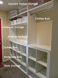 Laundry Room Storage Bins by Home Decor Laundry Room Color Scheme Juansrants
