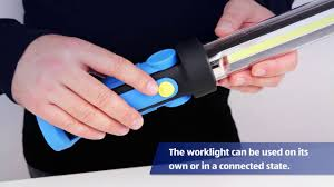 work zone rechargeable led work light xxl workshop inspection l youtube