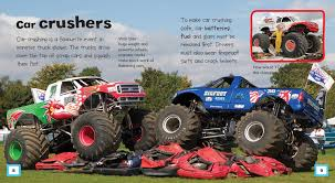 monster trucks shows monster trucks mighty machines ian graham 9781770858510