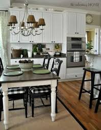 Farmhouse Kitchen Table Sets by Farmhouse Style Painted Kitchen Table And Chairs Makeover
