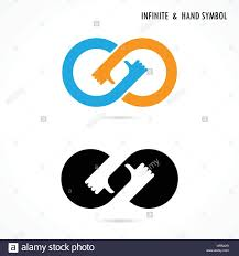 infinity sign hand sign and infinite logo elements design infinity sign the best