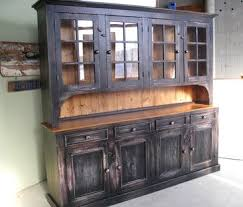 Country Hutch Furniture 161 Best Painted Hutches Images On Pinterest Antique Furniture
