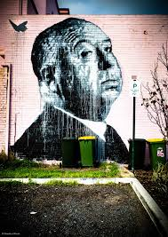 streets of perth top murals to visit in october how s this for a sensational portrait of alfred hitchcock painted by american street artist nils westergard it was commissioned by the cygnet cinema and