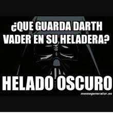 Darth Vader Meme Generator - coue guarda darth vader en suheladera heladoioscuro memegeneratores