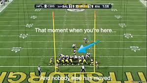 Ravens Steelers Memes - really offsides meme