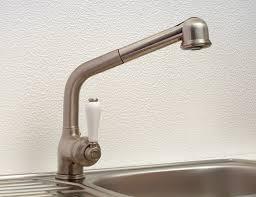robinet cuisine inox robinetterie rétro mitigeur d évier à douchette look inox v9054li
