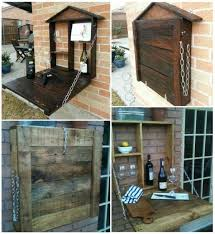 Pallets Patio Furniture 20 Creative Diy Pallet Storage Ideas And Projects