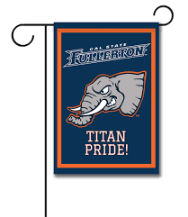 Decorative Sports Flags Cal State Fullerton Titan Pride Officially Licensed Garden Flag