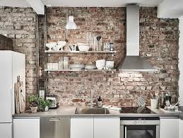 kitchen with brick backsplash kitchen backsplash ideas that aren t tile architectural digest