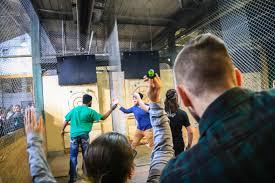 axe throwing toronto west batl