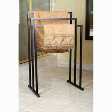 Floor Towel Racks For Bathrooms by Best 25 Free Standing Towel Rack Ideas On Pinterest Blanket
