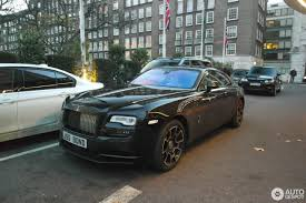 roll royce black rolls royce wraith black badge 24 december 2016 autogespot