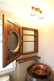 recessed porthole medicine cabinet porthole medicine cabinet porthole mirrored medicine cabinet 3 naval