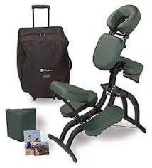 earthlite avila ii portable massage chair package