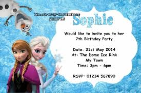 free printable frozen birthday invitations images invitation