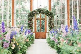 flower arch flower wedding at kew gardens larry walshe floristry