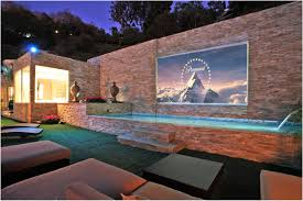 Backyard Theater Ideas Backyard Backyard Theater Traditional 17 Backyard Theater