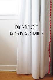 Ikea Curtains Vivan by Ikea Vivan Pom Pom Curtain Hack Curtains Pinterest Pom Pom