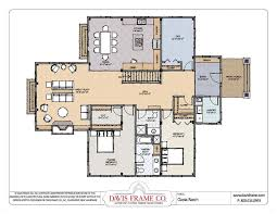 custom ranch floor plans converted barn house plans home timber frame plans