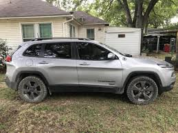 lifted jeep cherokee lifted the front only 2014 jeep cherokee forums