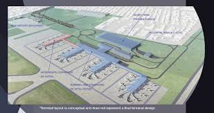 New Orleans Airport Map by New Terminal At Armstrong Airportseeks To Return Nola To Pre K
