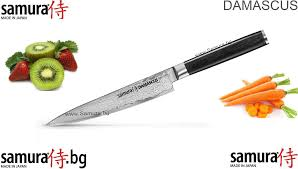 japanese damascus kitchen knives samura damascus utility series a kitchen knife suitable for