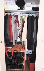 coat closet before after
