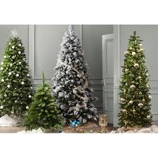 artificial christmas tree with lights beachcrest home spruce artificial christmas tree with clear lights