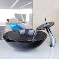 Vessel Sink Waterfall Faucet Vessel Sinks Vessel Sink Waterfall Faucetoinationred Withovessel