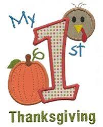 gather block 5 sizes thanksgiving machine embroidery