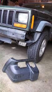 cherokee jeep xj urban trailseeker jeep cherokee xj front bumper removal