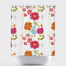 Shabby Chic Floral Curtains by Shop Shabby Chic Shower Curtains On Wanelo