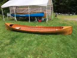used boats brokerage used wooden rowing guideboats rushton
