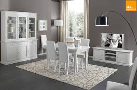mobili sala da pranzo moderni gallery of mobili bianchi in arte povera di mobilinolimit homify