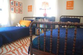 Navy Blue Bedroom Furniture by Furniture Beautiful Brown Wood Jenny Lind Twin Beds As Bedroom