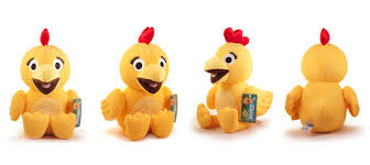 amazon com chica plush from the sunny side up show on sprout 13