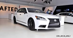 white lexus car revs daily com 2015 lexus ls460 f sport crafted line is most