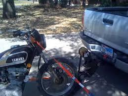 Tire Rack Motorcycle Voodoo Vintage Fabrication Hitch Mount