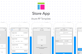 store app axure rp template siteup