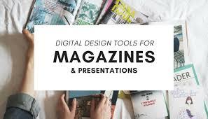 online design tools digital design tools for magazine and presentation design
