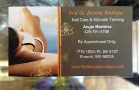 nail u0026 beauty boutique everett wa 98208 yp com