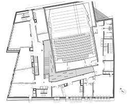 Dance Studio Floor Plans Music In Paris Features Copper Walls And Cantilevered Studios
