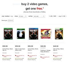 target black friday ps4 games deal target buy 2 get 1 free deal offers free xbox u0026 ps4 games